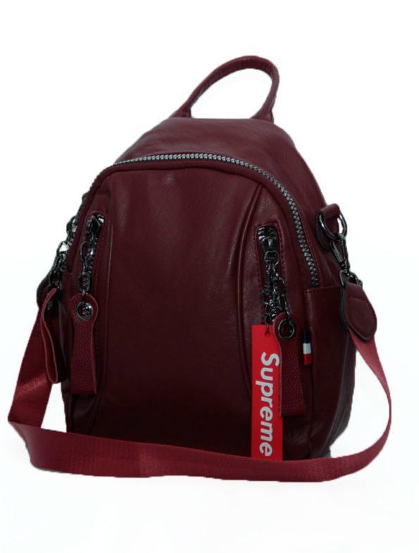 рюкзак женский 090 бордо