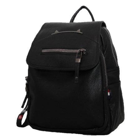 женский рюкзак, эко-кожа 1335 черный