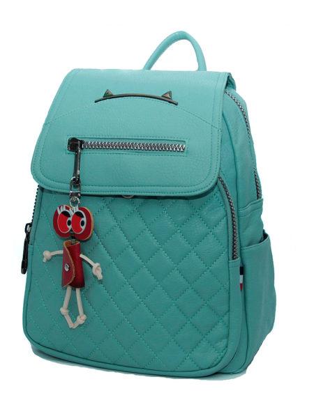 рюкзак женский, эко-кожа 1335 ментол