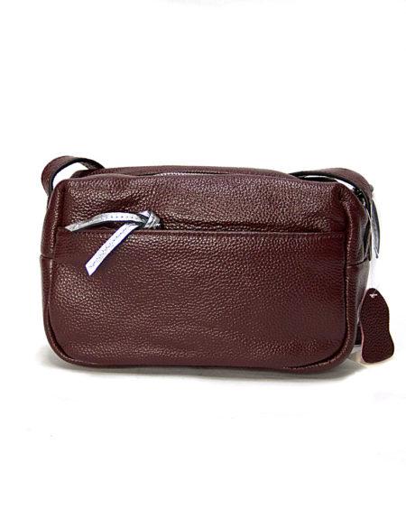 Женская сумочка кросс-боди 066 бордо