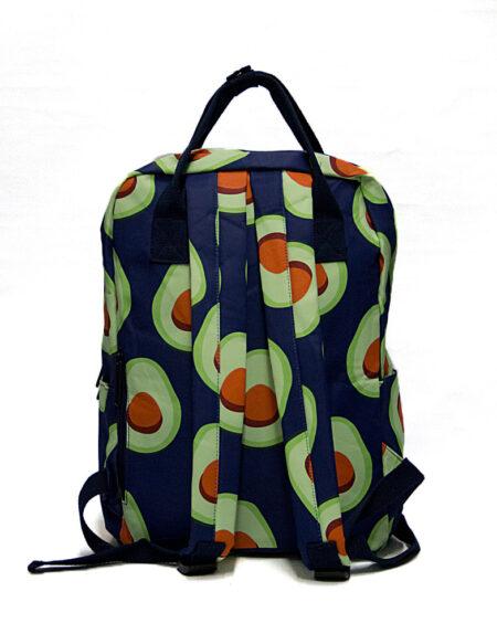 Сумка-рюкзак 8612 Авокадо, синий