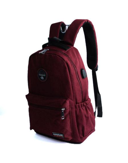 рюкзак школьный 8616 бордо