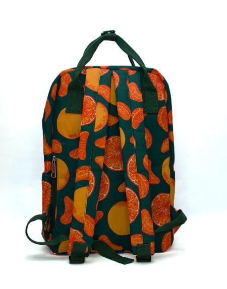 Сумка рюкзак, мандаринка 8612
