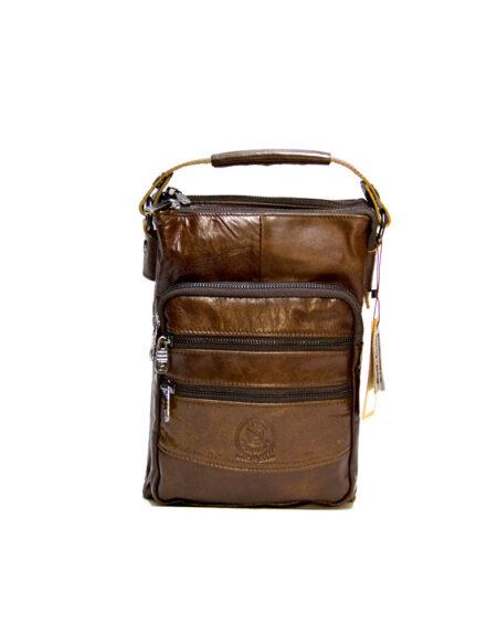 Мужская сумка через плечо из натуральной кожи F-99520-1