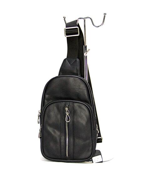 Мужская сумка через плечо из натуральной кожи 10019