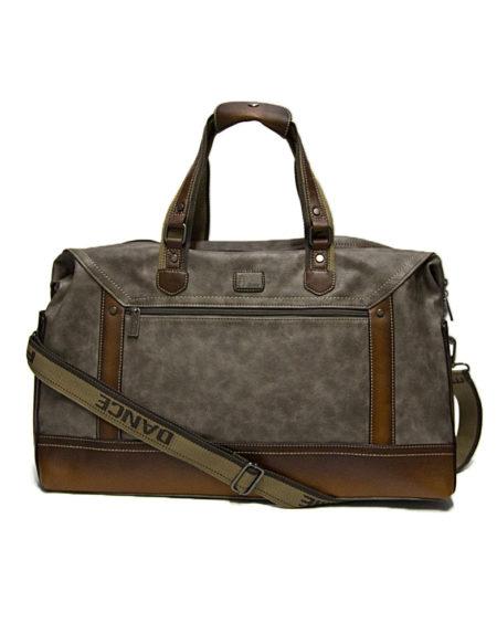 Дорожная сумка — саквояж 88132 серый