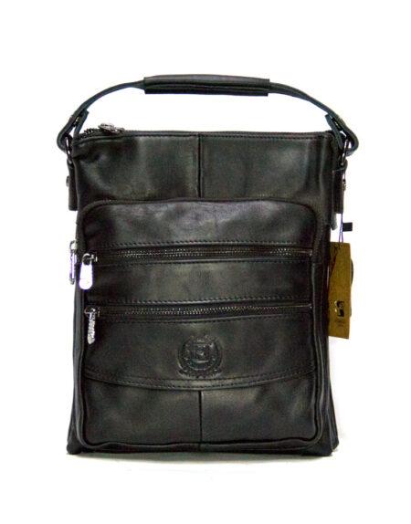 Мужская сумка через плечо из натуральной кожи 99520-2