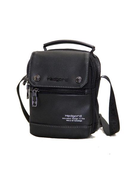 Мужская сумка из текстиля Hedgard 4138 bl