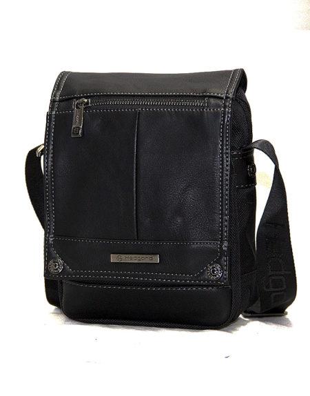 Мужская сумка из текстиля Hedgard 9677 bl