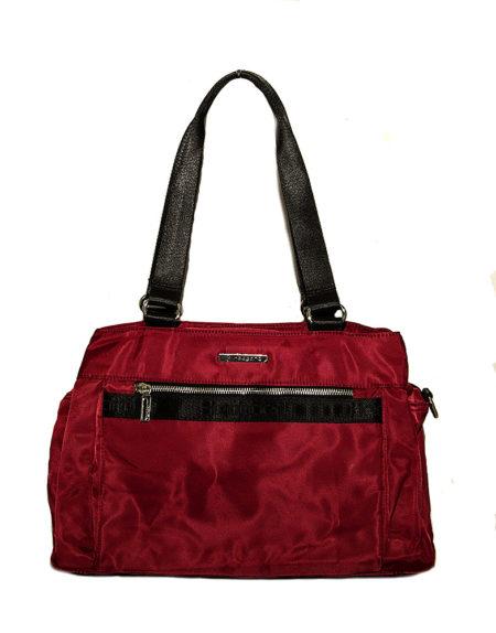 Женская сумка из текстиля Hedgard 4147 red