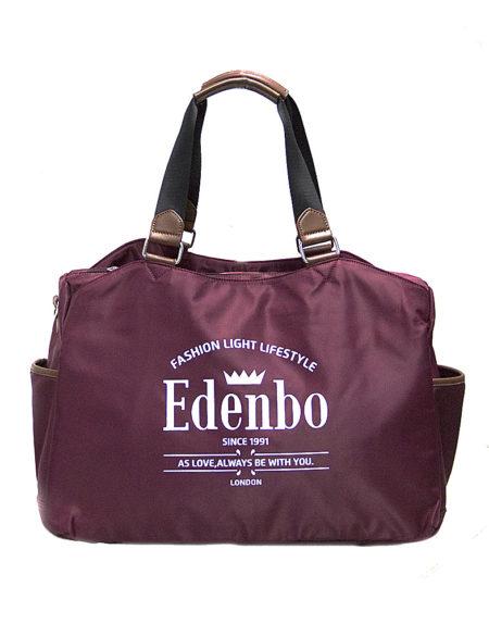 Женская сумка из текстиля Edendo 921 Maroon