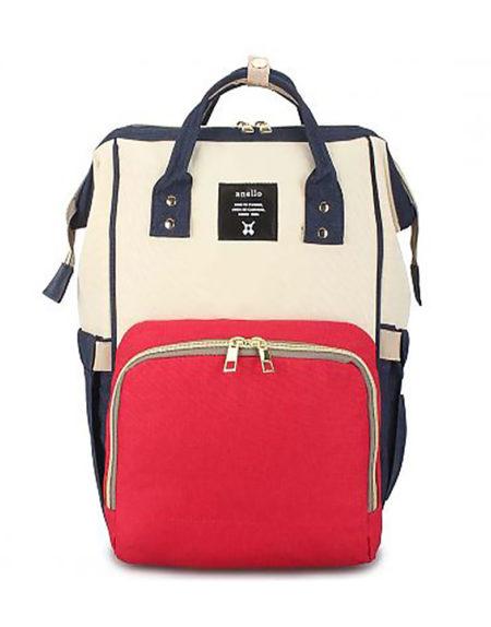 Рюкзак для мам с USB-портом для зарядки В-001 комб.