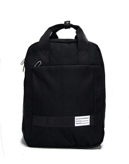 Рюкзак — сумка для ноутбука 1121  из текстиля черный