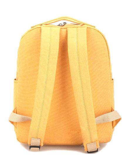 Рюкзак джинсовый жёлтый, классический Stray Birds 1895