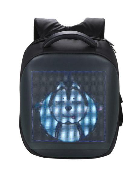 Городской рюкзак с LED экраном
