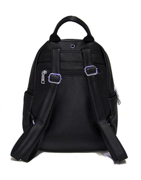 Рюкзак женский из экокожи модель 1995, цвет чёрный