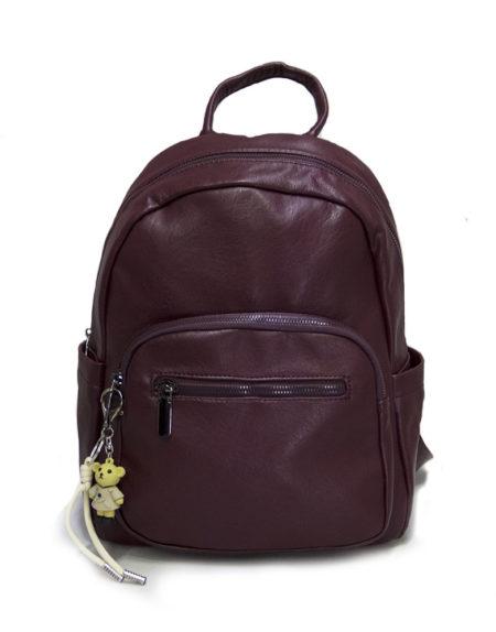 Рюкзак женский эко-кожа 1167, бордо