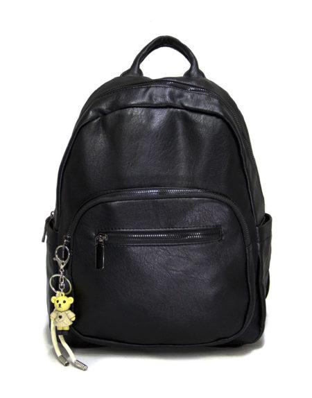 Рюкзак женский эко-кожа 1167, черный