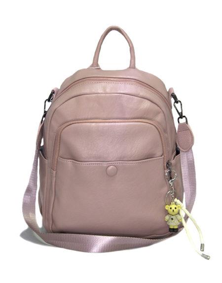 Рюкзак женский эко-кожа 268, Пудра
