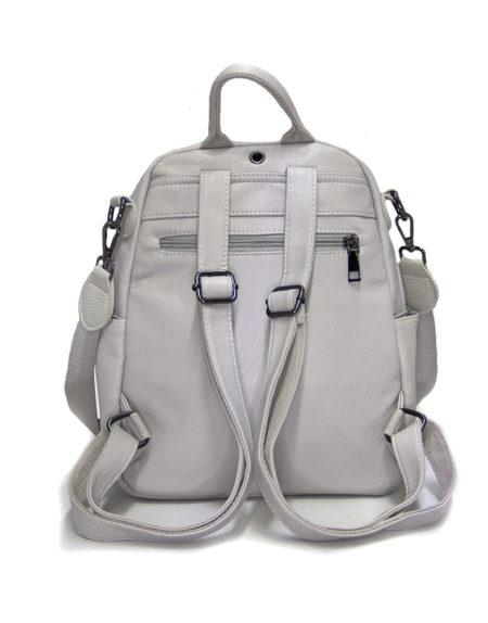 Рюкзак женский эко-кожа 268, Серый