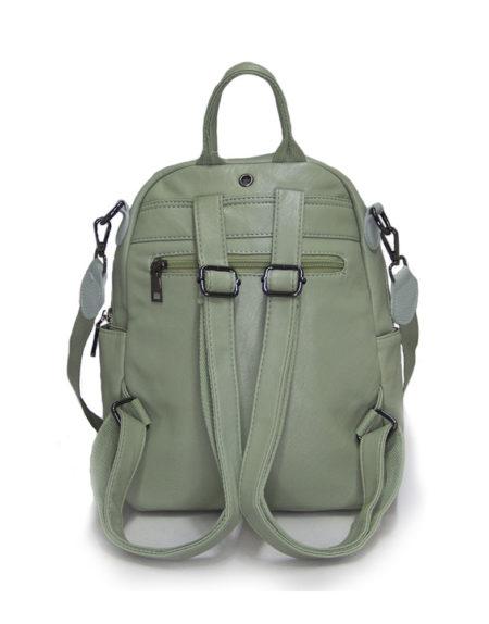 Рюкзак женский эко-кожа 268, олива