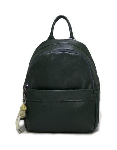 Рюкзак женский из экокожи модель 1995, цвет зелёный