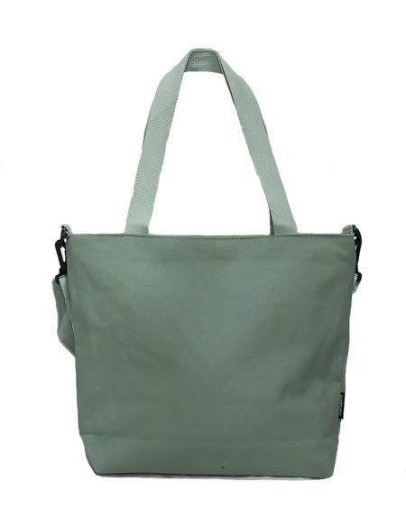 Шопер, сумка женская текстильная 5105 цвет- ментоловый