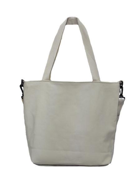 Шопер, сумка женская текстильная 5105 цвет- белый