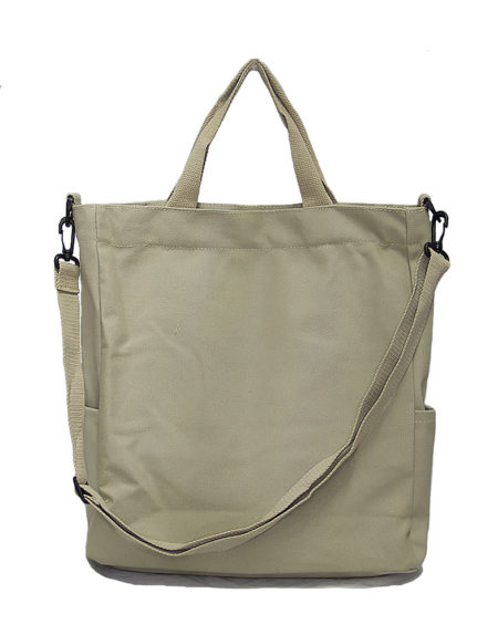 Шопер, сумка текстильная 8160, серая