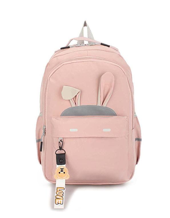 Рюкзак зайка Nikki, 037. пудра