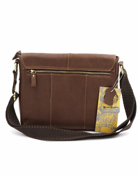 Сумка планшет, кожа 1299 коричневая