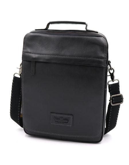 Сумка планшет, кожа 4040 черная