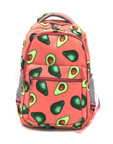 Рюкзак авокадо 1028, коралловый