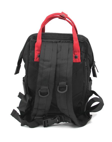 Сумка-рюкзак ANELLO, 1104 Черно-красный