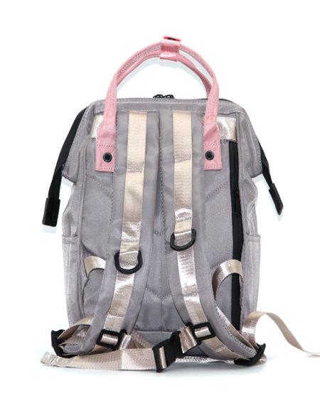 Сумка-рюкзак ANELLO, 1104 Серо-пудровый