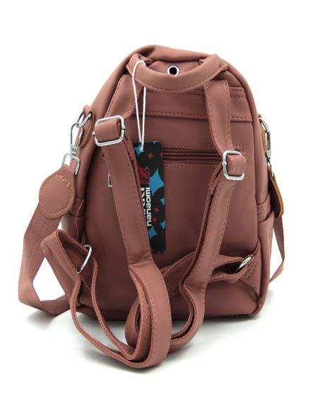 Сумка-рюкзак 0013, пудра