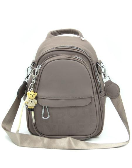 Сумка-рюкзак 0013, Серый