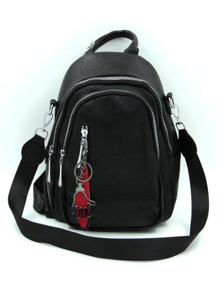 Сумка-рюкзак 08299, Черный