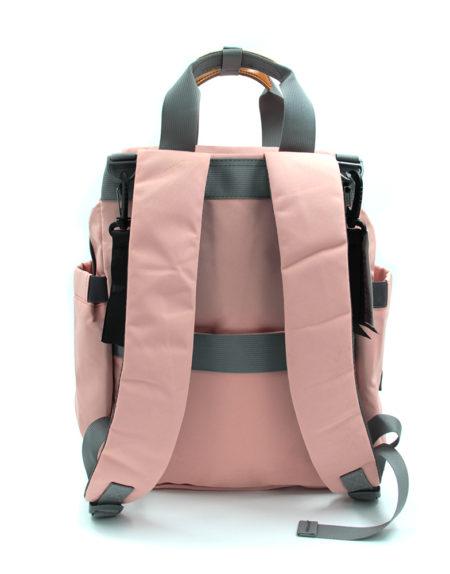 Сумка-рюкзак для мам Kidsboll 002, Пудра