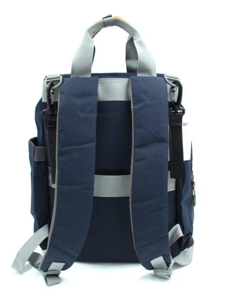 Сумка-рюкзак для мам 002, Синий