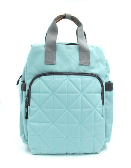 Сумка-рюкзак для мам Kidsboll 002, Голубой